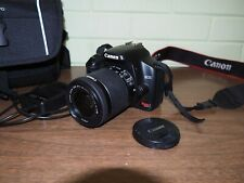 Canon Xsi 450D EOS 12.2MP Digital SLR  Camera with 18-55 STM Lens - with Bag
