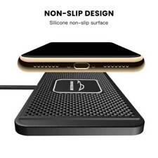 Qi Auto Wireless Charger Handy Ladematte Induktions Ladegerät für iPhone Samsung