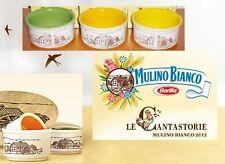 3 coppie di Ciotoline cantastorie Mulino Bianco - 2012