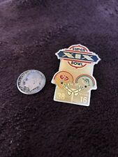 FOOTBALL PIN  SUPER BOWL XIX  SAN FRANCISCO 49ERS  MIAMI DOLPHINS 1985  STANFORD