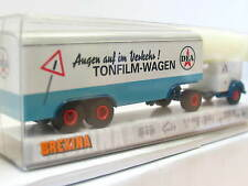 Brekina 42214 Magirus Mercur Koffersattelzug Tonfilm-Wagen DEA OVP (N6438)