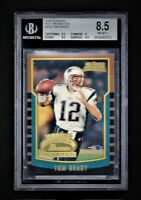 💥 2000 Bowman TOM BRADY ROY PROMO BGS 9.5 sub Rookie 1/250 not Chrome Refractor
