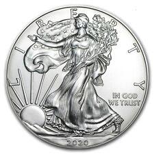 2020 American 1 oz Silver Eagle Coin 999 Fine Silver Brilliant Uncirculated