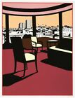 Kenneth Price Wester Sunset 1993 Screen Print LE 70 26 x 20.38  Fine Art