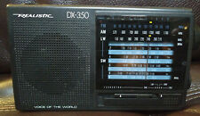 Realistic DX-350 Voice of the World 20-209 Shortwave AM/FM/SW/LW 12 Band Radio