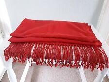 Pashmina Original Cashmere Silk Large Fringe Scarf Shawl Wrap New