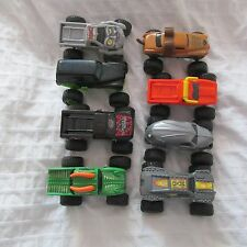 2015 MCDONALDS MONSTER JAM HOT WHEELS COMPLETE SET LOT 8 TRUCKS CARS