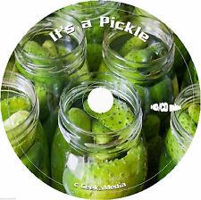 Making Pickles Recipes 54 Books cd Pickling Easy Preserving Relishes Vegetables
