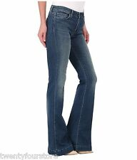 NWT $240 J Brand Jeans Another Lovestory Flare Bellbottom in Ingenue Blue sz 24