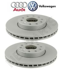 Audi A3 VW Beetle Eos Golf Pair Set of Front Vented Disc Brake Rotors 288mm OES