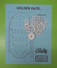 1962 Bally Golden Gate pinball / bingo rubber ring kit