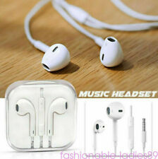 iPhone 6/6s/6plus Volume Control Earphone Remote Mic Headset Fit 5s 5 4s 4 White