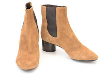 Isabel Marant brown L6 R6.5 suede elastic gore pull on ankle boot shoe NEW $790
