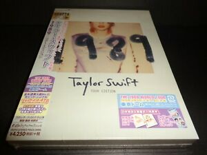 "Taylor Swift ""1989"" BRAND NEW CD JAPAN TOUR EDITION 2014 Big Machine Records"