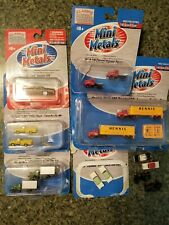 Lot of 15 Mini Metals Police Hennis '67 Ford 1:160 & 1:87 Scale One is brand new