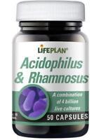 Lifeplan L.acidophilus & Rhamnosus 50 Capsules
