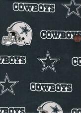 NFL Dallas Cowboys Blue Cotton Fabric 4 Pieces 12