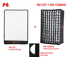 Falcon Eyes Flexible LED Panel LED Video Light RX-12T Softbox and HoneyComb Grid