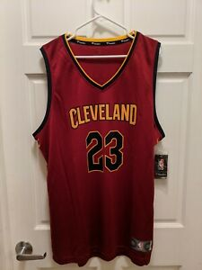 2017 Lebron James Fanatics Fastbreak Cleveland Cavaliers Jersey XL