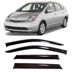 For Toyota Prius II 2003-2009 Side Window Visors Sun Rain Guard Vent Deflectors