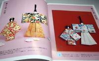 Make Origami Washi Paper Doll book Japan Japnese traditional craft kimono #1008