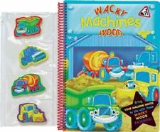 Very Good, Whacky Machines Activity Board Book (A767), , Toy