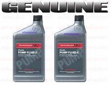 Set of 2 Genuine Honda Rear Differential Dual Pump 2 Fluid 082009007