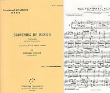 Souvenirs de Munich Fantaisie by Richard Wagne sur Theme de Tristan et Isolde