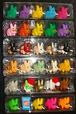 "6 SETS OF  Frank Kozik Smorkin Labbit  1.5"" Designer Toy"