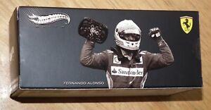 Mattel Hotwheels Elite 1/43 FERRARI F2012 Fernando Alonso Malaysian F1 X5512