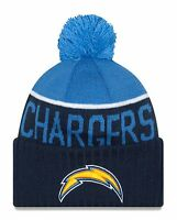 LA Chargers Players Sideline Sports Knit Beanie Cap Hat NFL New Era