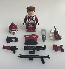 Lego Star Wars Custom Heavy ARF Elite Clone Trooper + Custom Helm, Mini Gun etc