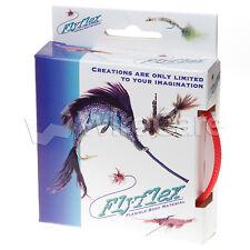 """Jan0.25Rd - Flyflex Pack, 1/4"""" Red Pet"""