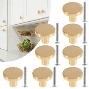 Kitchen knobs Cabinet pulls handles cupboard Drawer door furniture brass gold AU