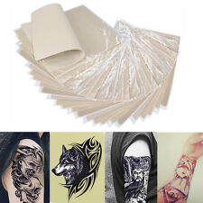 "20Pcs Tattoo Practice Skin for Needle Machine Supply Plain Blank Sheets 8""x6"" UA"