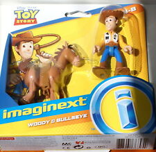 Paquete De Figura Deluxe Imaginext Woody forky Duke Carl Bo Peep de combate Toy Story 4