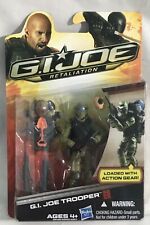 2011 Hasbro GI Joe Retaliation G.I. JOE TROOPER Action Figure, Tan Cape Variant