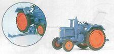 H0 PREISER 17925 TRATTORE AGRICOLO lanz. modello pronto.conf. orig.