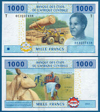 CENTRAL AFRICAN STATES / CONGO 1000 Francs UNC P.107T