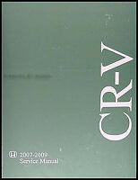 Honda CR-V Shop Manual 2007 2008 2009 NEW Original CRV Repair Serivce Book OEM