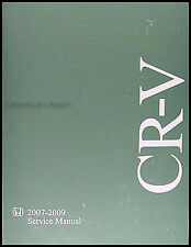 Honda CR-V Shop Manual 2007 2008 2009 NEW Original CRV Repair Serivce Book OEM