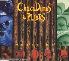 CHAKA DEMUS & PLIERS - Tease Me (UK 4 Tk CD Single)