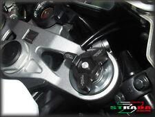 Strada 7 14mm CNC Fork Preload Adjusters Suzuki GSX-R1000 SV1000 S B-King Black