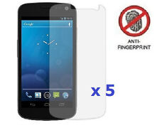 5 x Anti Glare LCD Screen Protector for Samsung Galaxy Nexus (Samsung SCH-i515)