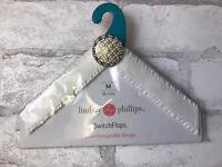 Lindsay Phillips Switch Flops Straps Devina White Ruffled Switchflops Medium 7/8