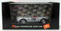 Brumm Models 1/43 Scale R234 - Porsche 550 RS #130 America 1954 - Silver