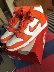 Nike Dunk High Retro Syracuse Orange Blaze 2021 Men's Size 12