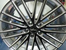 4x OXIGIN 19 OXSPOKE TWO COLOUR SI/BL IN 8,5Jx18 ET40 5x112mm für VW,AUDI,MB