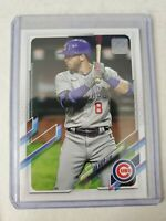 Ian Happ 2021 Topps Series 1 Advanced Stats Parallel 125/300 Chicago Cubs #110