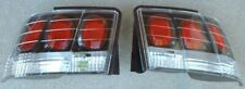 1999-2004 Ford Mustang Cobra GT V6 Carbon Fiber Look Tail Lights Set NEW By APC